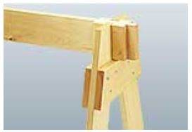 Knock-Down Sawhorses