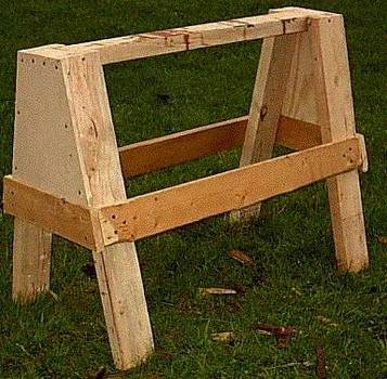 Simple Sawhorse Plans