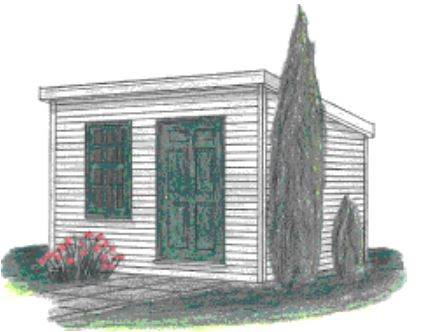 Shed Plans 8x10