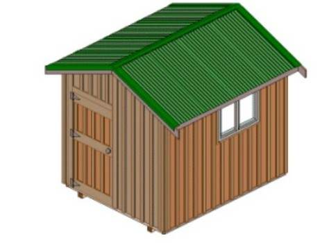 8' x 10' shed
