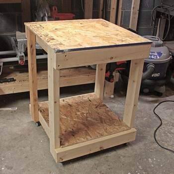 Inexpensive Garage Cart