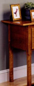 Solid Maple Console Table