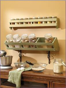 Handy Spice and Cannister Rack