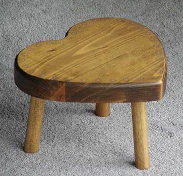 Heart Shaped   Stool