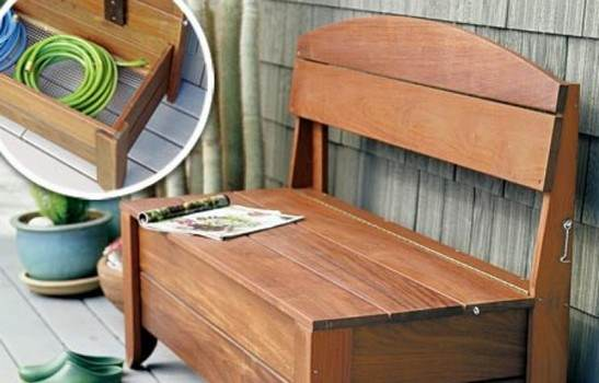 Hidden Storage Bench