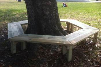 Clever Tree Bench Plans