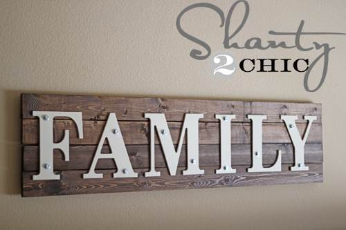 Build a Family Sign