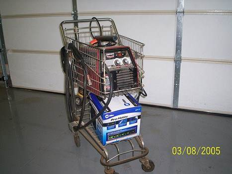 Welding Cart Plans For Acetylene Mig Or Plasma Welding