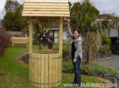 Wishing Well Plans for Garden