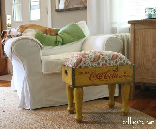 Crate-Footstool