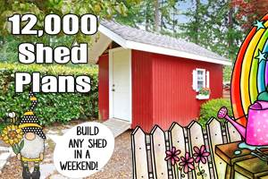 12,000 Shed Plans